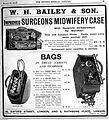 Engravings; advertisment for anaesthetist's bags. Wellcome L0000767.jpg