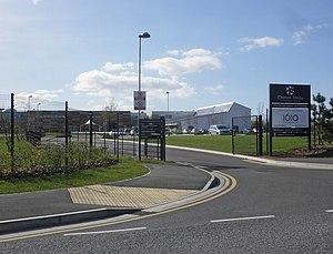 Chilton Trinity School - Image: Entrance, Chilton Trinity School (geograph 4425359)