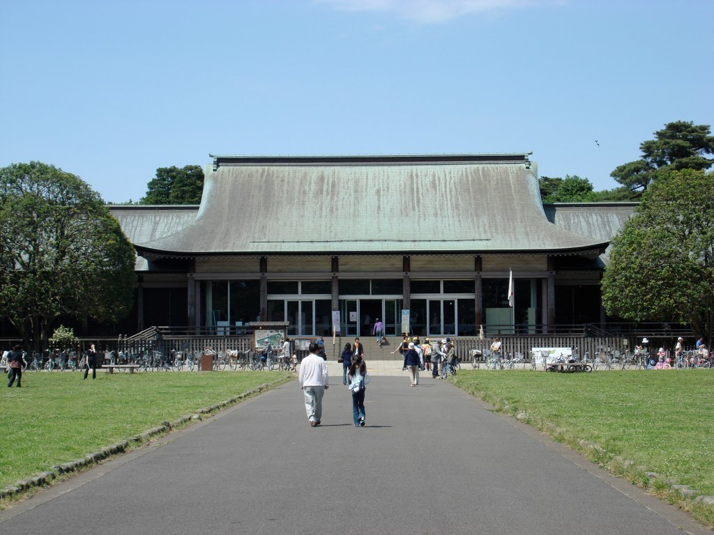 Entrance of the Edo-Tokyo Open Air Architectural Museum