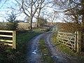 Entrance to Meeroak Farm - geograph.org.uk - 655124.jpg