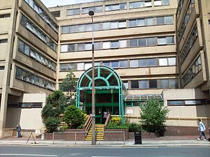 University of Liverpool School of Dentistry - Entrance to Liverpool Dental Hospital