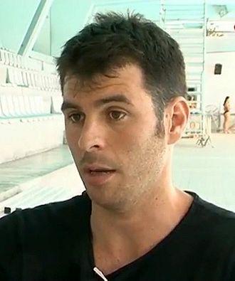 Iñaki Aguilar - Image: Entrevista al porter del CN Terrassa de waterpolo, Iñaki Aguilar 02