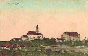 Erbach an der Donau - Erbach about 1920