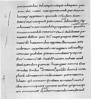 <i>De divisione naturae</i> book by Johannes Scotus