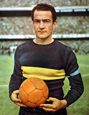 Ernesto Grillo - Grillo during his tenure   on Boca Juniors in 1964.
