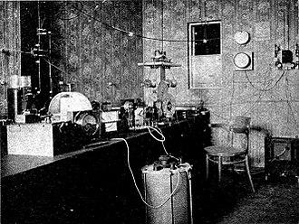 Ernst Ruhmer - Ruhmer's radiotelephone transmitter, circa 1905