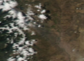Eruption of Copahue Volcano, Argentina-Chile, 12-23-2012.PNG