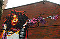 Erykah Badu wall art, Wellesley Rd, SUTTON, Surrey, Greater London.jpg