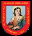 Escudo Distrital Llanos de Santa Lucía.png