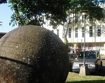 Esfera Precolombina en Univ de Costa Rica