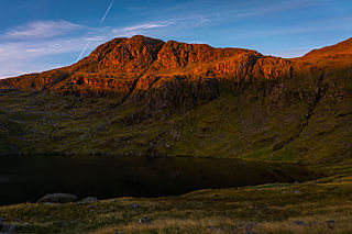 Esk Pike Fell in the Lake District, Cumbria, England