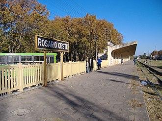 Barrio Echesortu - Rosario Oeste Station