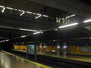 Canillas (Madrid Metro) - Image: Estacion Canillas