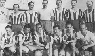 Estudiantes de Buenos Aires - The 1942 team which won the first championship for the club.