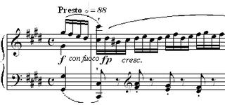 Étude Op. 10, No. 4 (Chopin) étude written by Chopin
