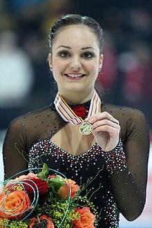 Eŭropa Ĉampioneco 2011 Sarah MEIER - Gold Medal.jpg