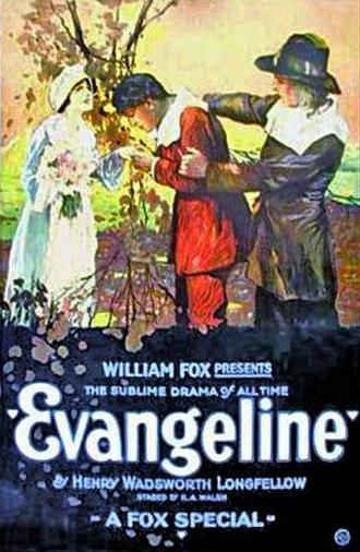Evangeline (1919 film) - Image: Evangeline poster 1919