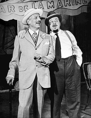 Fanny (musical) - Ezio Pinza and Walter Slezak in the original Broadway production of Fanny