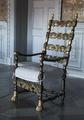 Fåtölj med lejontassar, 1800-tal - Skoklosters slott - 103996.tif