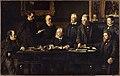 Félix Jobbe-Duval - Le bureau du Conseil Municipal, en juillet 1883 - P2661 - Musée Carnavalet.jpg