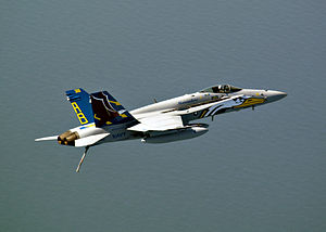 VFA-82 - Colourful Hornet from VFA-82 in 2004.