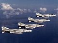 F-4J Phantoms of VMFA-333 in flight in 1976.jpg
