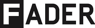 The Fader - Image: FADER logo
