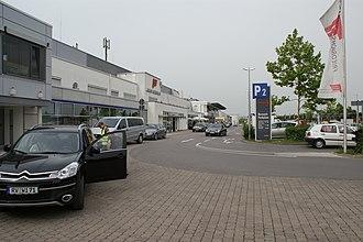Friedrichshafen Airport - Image: FDH Front