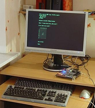 Reconfigurable computing - Image: FPGA Retrocomputing