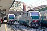 FS Class E402-170 + E402-122 at Genova Piazza Principe, 2009.JPG