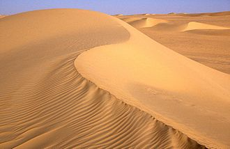 Chad Basin - Dunes in the Erg of Bilma