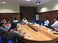 Faculty and Rahul at Christ University.jpg