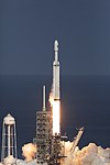 Falcon Heavy clearing the tower 10.jpg