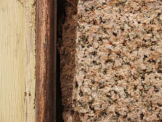 Fall River granite - Detail of Fall River granite