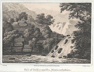 Fall of Doll-y-mullin, Merionethshire