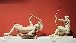 Fallen warrior from East pediment of the temple of Aphaia (casting in Pushkin museum) by shakko 03