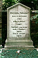 Faraday Michael grave-MJ.jpg