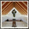 Faroe stamp 338 Frederik's church.jpg