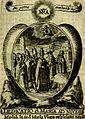 Fasti Mariani cum illustrium diuorum imaginib. and elogijs prope DC. in singulos anni menses diésq SS. natales distributis (1630) (14565398630).jpg