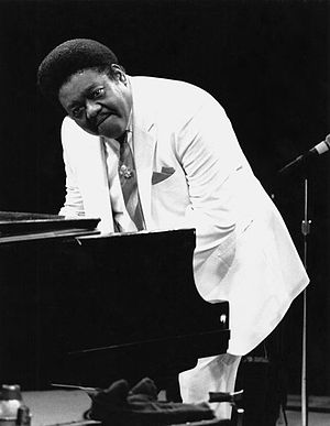 Fats Domino - Domino performing in New York in the 1980s