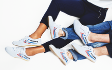 A pair of the classic Feiyue Shoes.