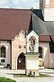 Feldkirchen Friedhof Bildstock Maria im Dorn-Pfarrkirche Portal 02082018 6124.jpg