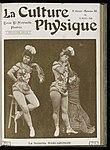 Female acrobat, La Senorita Barcaronow, c. 1906 Wellcome L0039141.jpg