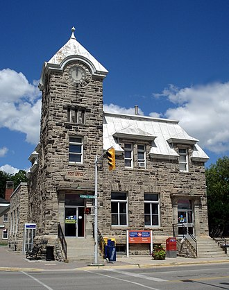 Fergus, Ontario - The Fergus post office.
