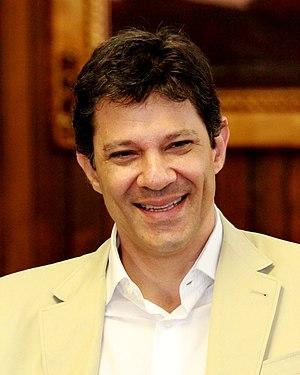 Fernando Haddad - Image: Fernando Haddad na CMSP