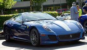 image illustrative de l'article Ferrari 599 GTO
