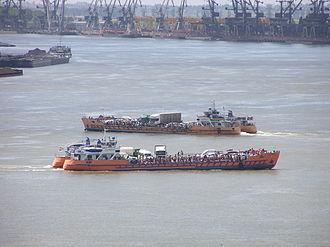 Galați - Over the Danube