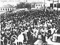 Festa de Nossa Senhora da Saúde em Lagoa Santa-MG - 1950 (Fonte- Acervo Prefeitura Municipal de Lagoa Santa).jpg