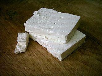 Greek food products - Greek feta
