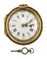 Fickur med boett av guld samt urnyckel, 1780 - Hallwylska museet - 110448.tif